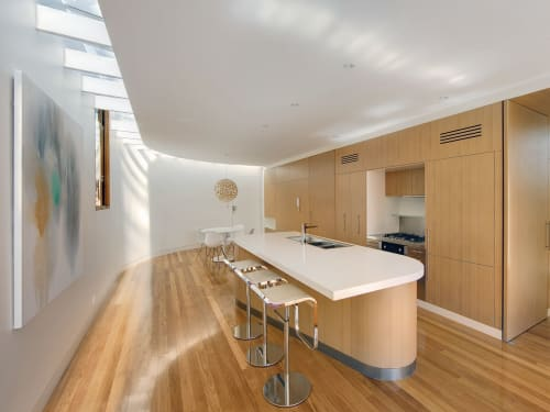 Architecture by CplusC Architectural Workshop seen at Private Residence, Curl Curl - Infinity House