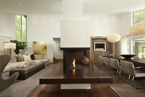 Interior Design by Andrew Flesher Interiors seen at Private Residence, Minneapolis - 1970's Makeover
