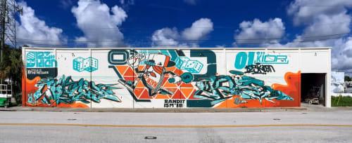 123Klan - Street Murals and Murals