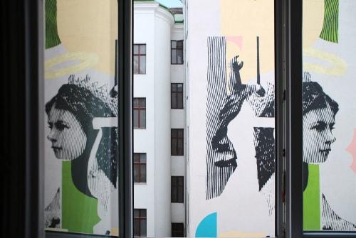 #MAXVienna | Murals by Käthe Schönle | Max Brown Hotel 7th District in Wien