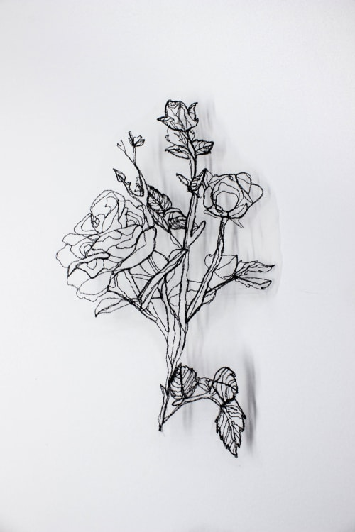 if I am picked like the flower   Art & Wall Decor by Kate Burke
