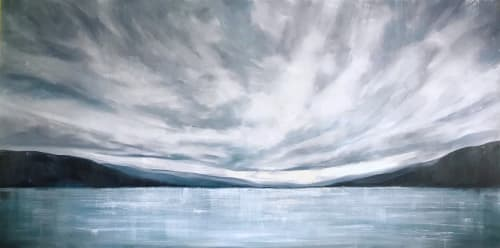 Paintings by Gabrielle Strong seen at Private Residence, Kelowna - I've Loved You for a Thousand Years