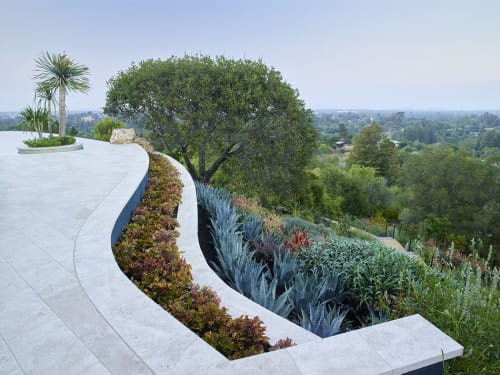 Plants & Landscape by Zeterre Landscape Architecture seen at Private Residence, Los Altos - Los Altos Hills Playground