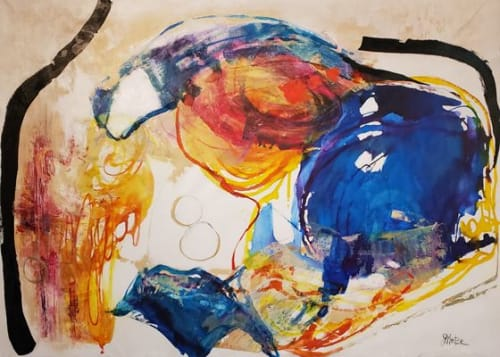 Paintings by Judy Mintze Original Artwork seen at Fishers, Fishers - Large Abstract Artwork