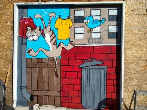 PixelDorian - Street Murals and Murals