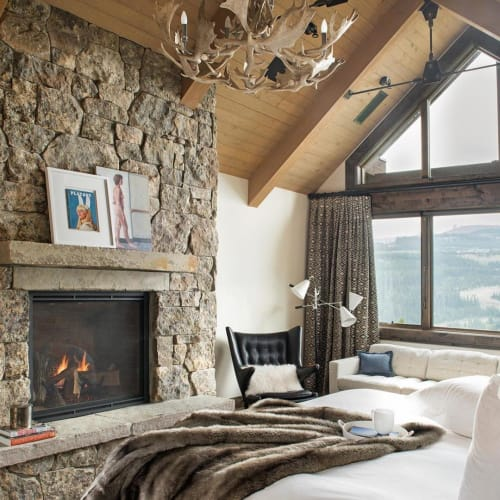 Interior Design by Abby Hetherington Interiors seen at Yellowstone Club, Big Sky - Interior Design