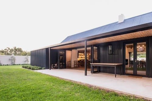 Architecture by Kritzinger Architects seen at Private Residence, Franschhoek - La Grange Cottage