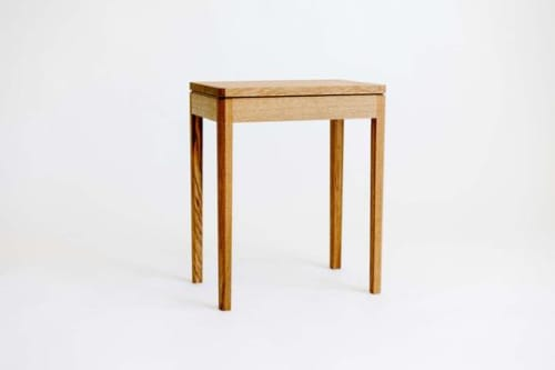 Tables by Lundy seen at Creator's Studio, Boulder - Lassen Nightstand