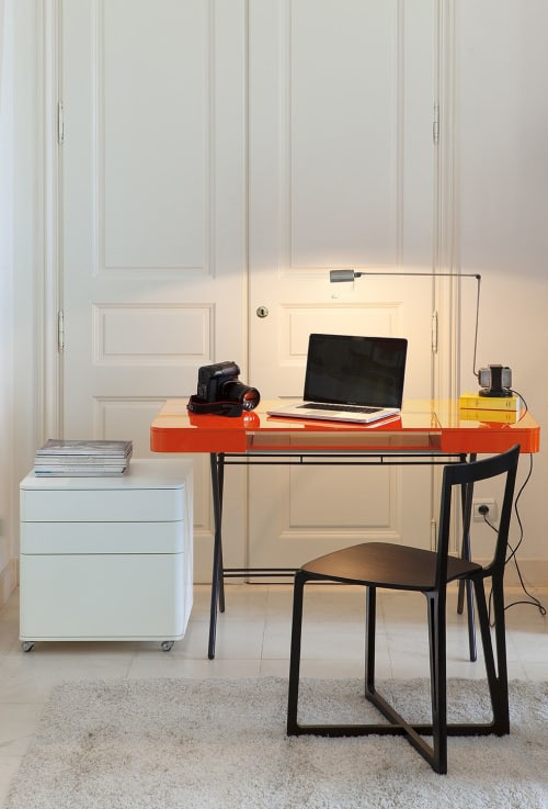 Interior Design by Adentro seen at Private Residence, Paris - Parisian Deluxe home office