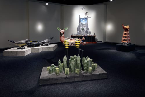 Sculptures by Jason Walker seen at Bellevue Arts Museum, Bellevue - Solo Show at the Bellevue Arts Museum