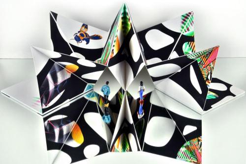 "Sculptures by Peter D. Gerakaris Studio seen at 亞億藝術空間 AHM Gallery - ""Ventana Origami Sculpture"" - AHM Gallery Taipei"