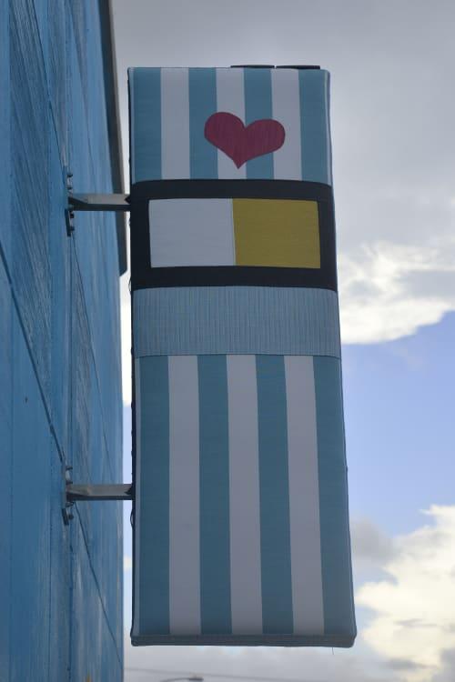 Street Murals by Iron Thread Design seen at Downtown, Austin - Lamar Tempo Art Project