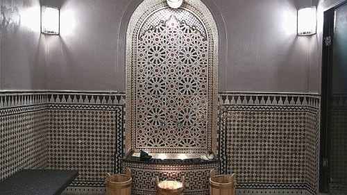 Tiles by Moroccan Tile & Stone seen at Private Residence, Fes - Small Mosaics