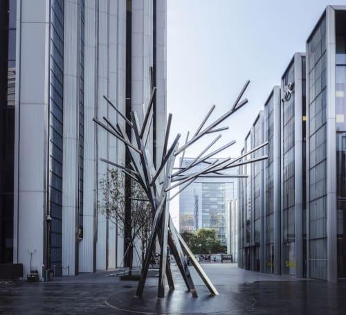 Public Sculptures by Studio JT Pty Ltd seen at Shenzhen, Shenzhen - Diaphanous Bloom