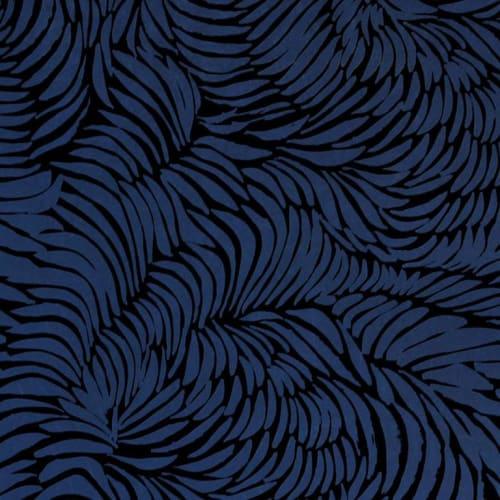 Wallpaper by Jill Malek Wallpaper - Plume   Midnight