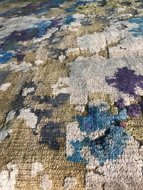 Rugs by WOVEN CONCEPTS seen at Private Residence - Aldrin (Ophelia)