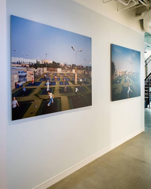 "Photography by Bill Owens seen at Facebook, San Francisco - ""Suburbia"""