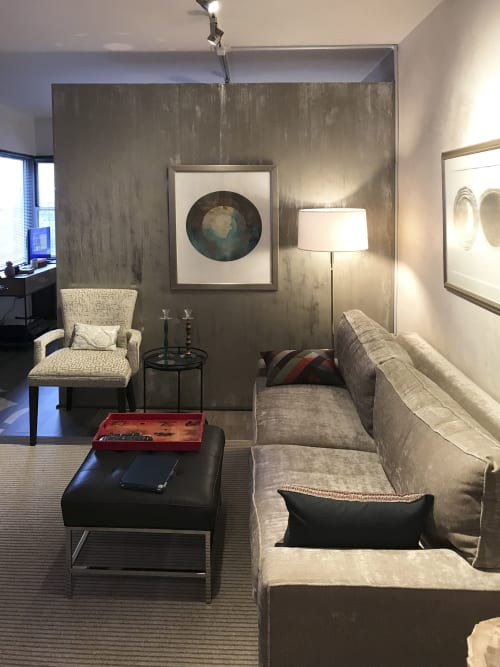 Paintings by FitzgeraldArt seen at Private Residence, New York - Sea Calls To The Sky