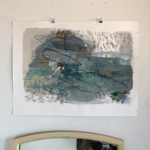Paintings by Wendy Stefanelli seen at Brooklyn, Brooklyn - Abstract Painting