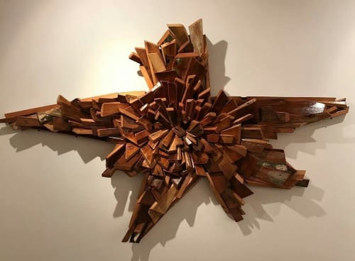 Sculptures by JOSE ANTONIO ARVELO seen at Red Bank, Red Bank - BOOOOM!
