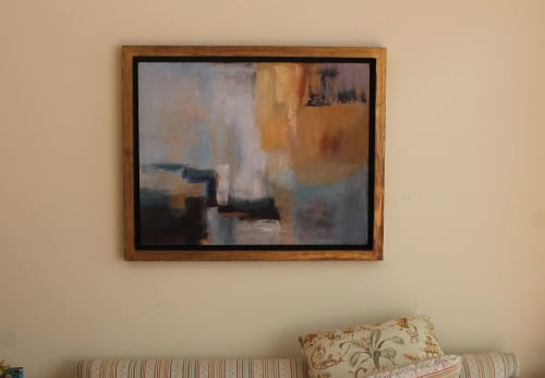 Paintings by Cecilia Arrospide seen at Private Residence, Lima - SUNSHINE