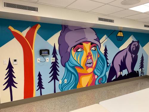 Spencer McCarty - Murals and Street Murals