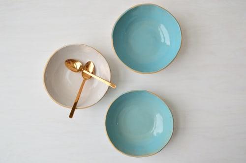 Tableware by Jill Zeidler Ceramic Art seen at Private Residence, New York - Wabi Sabi Bowl – Raw Edge