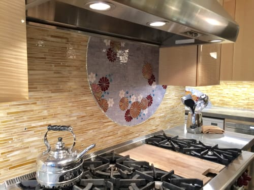 Art & Wall Decor by CH Mosaic seen at Private Residence in New York, NY, New York - Manhattan Upper West Side Kitchen Renovation