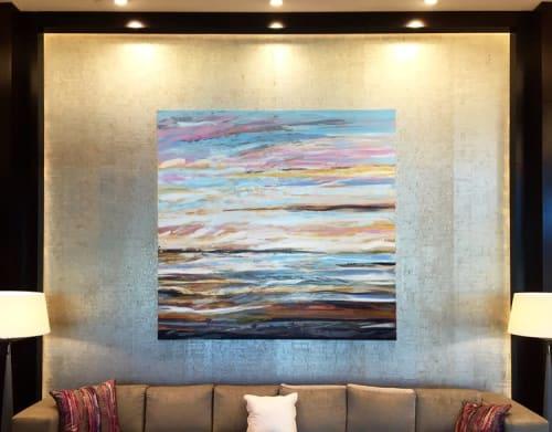 Paintings by Patrick Pryor seen at The Westin Edina Galleria, Edina - After Sunset