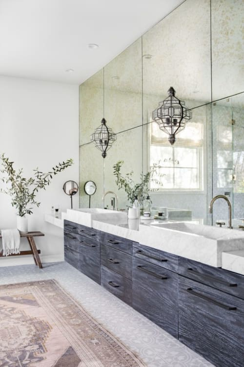 Sconces by l'aviva home seen at Private Residence, Altadena - Granada Lighting Collection — Alhambra Sconces