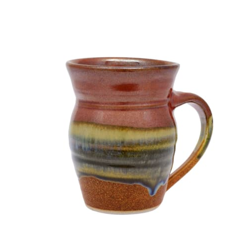 Tableware by Sunset Canyon Pottery at Sunset Canyon Pottery, Burnet Road, Austin, TX, United States, Austin - Mugs