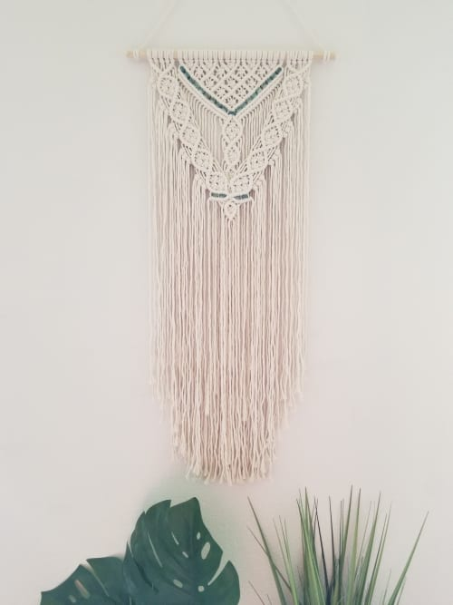 Macrame Wall Hanging by Sweet Home Alberti seen at Private Residence, Vancouver - Macrame Wall Hanging - Jada