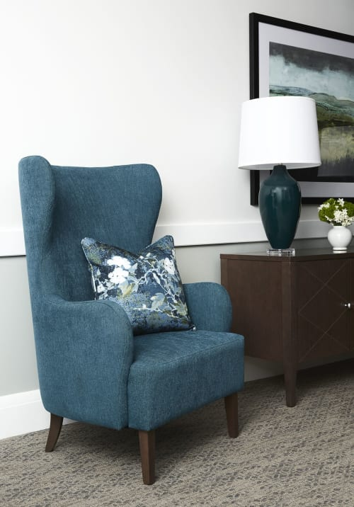 Chairs by Crown Furniture seen at Lady of Grace, Dural - Chair