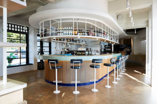Interior Design by EWERT LEAF seen at Williamstown, Williamstown - Sebastian Beach Bar & Grill