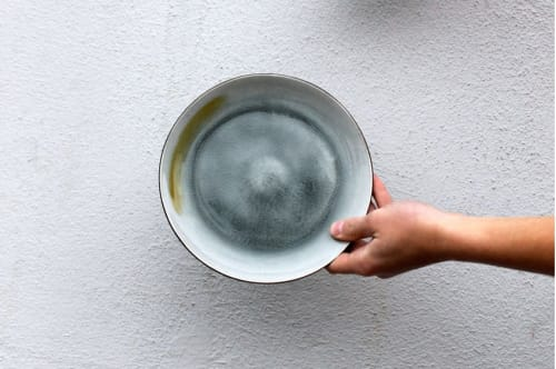 Ceramic Plates by Mieke Cuppen seen at Ron Gastrobar, Amsterdam - Gastro Plate