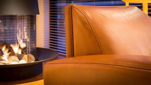 Chairs by Cruikshank Furniture seen at Louis Vuitton Queenstown, Queenstown - LV Club Chair