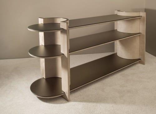 Furniture by Robert Sukrachand seen at Creator's Studio, Brooklyn - Torus Shelving