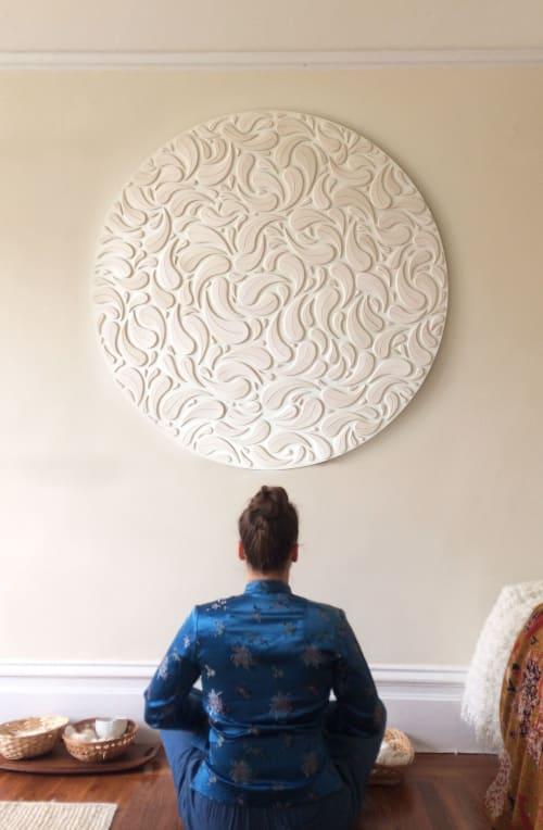 Murals by Anastasia Tumanova seen at Private Residence, New York - Mandala Rain