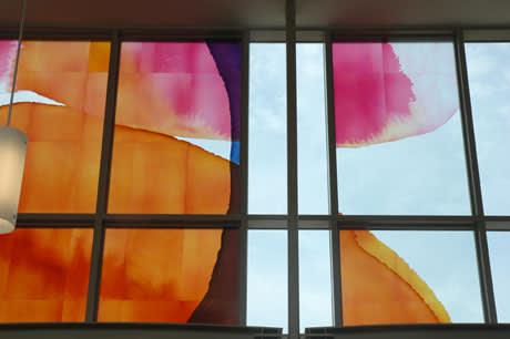 Art & Wall Decor by mac adams seen at Rutgers Law School, Camden - Glass Tapestry