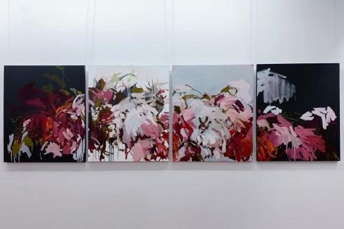 Paintings by Llewellyn Skye seen at Revival Art & Design Gallery, Lutwyche - Late Night Call