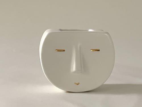 Sunshine Sam Vase | Vases & Vessels by Kristina Kotlier
