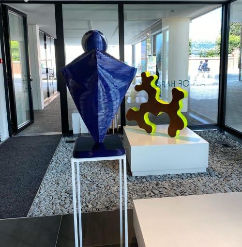 Sculptures by R&J Luxe Furniture seen at Art of Happiness Gallerij, Scherpenheuvel-Zichem - GALAKTICA
