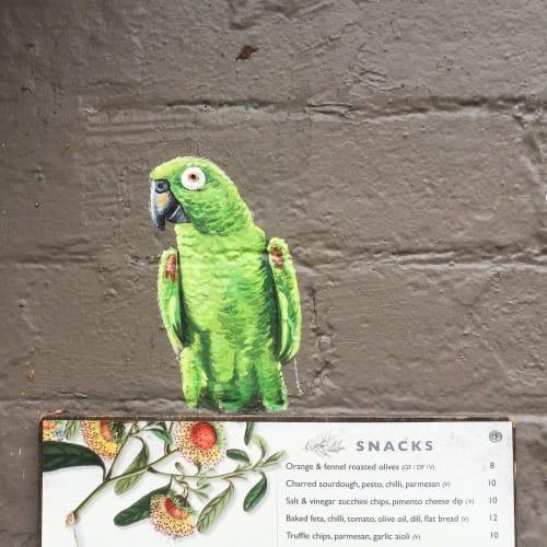 Murals by Mielo seen at The Botanist, Kirribilli - The Botanist