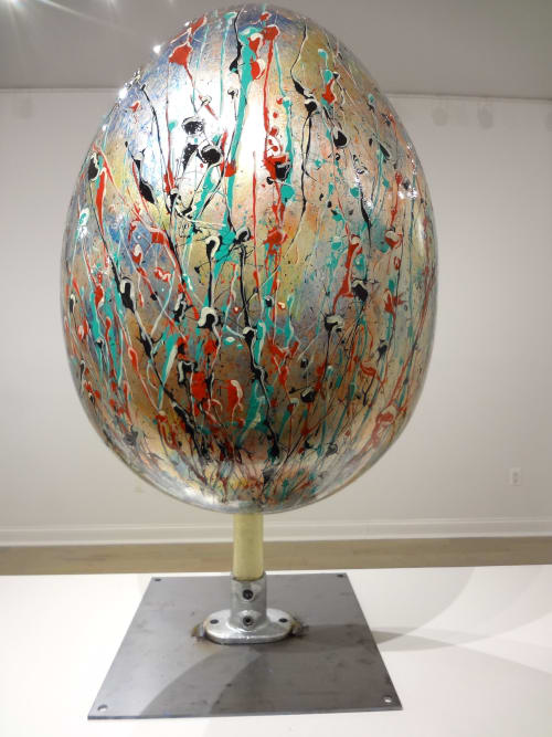 Public Sculptures by Garry Grant Studio seen at New York, New York - Faberge Egg Hunt 2014