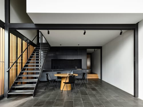 Architecture by Eldridge Anderson Architects seen at Private Residence, North Melbourne - North melbourne Terrace