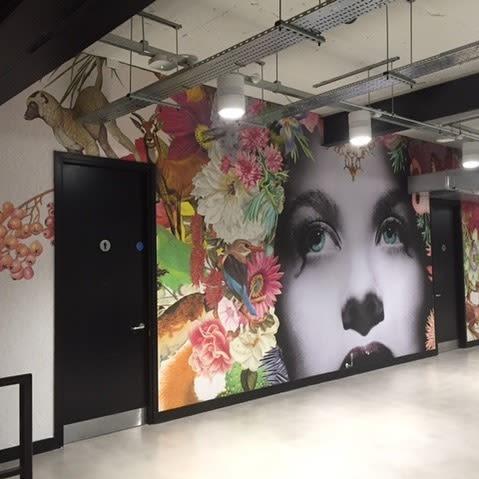 Wall Hangings by Maria Rivans seen at Generate Studio Ltd, London - Frieda