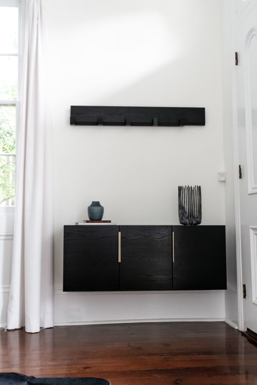 Furniture by Komolab seen at Private Residence, New Orleans - Wall-mounted credenza