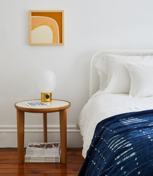 Tables by Design Within Reach seen at Localhaus, Brooklyn - Bedside Table