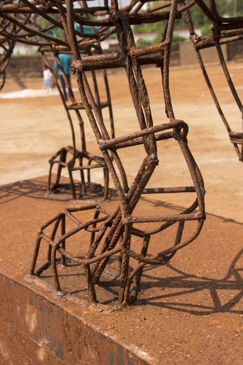 Public Sculptures by Nils Hansen | Sculpture & New Media Art seen at Bhubaneswar, Bhubaneswar - Tiger´s Gate