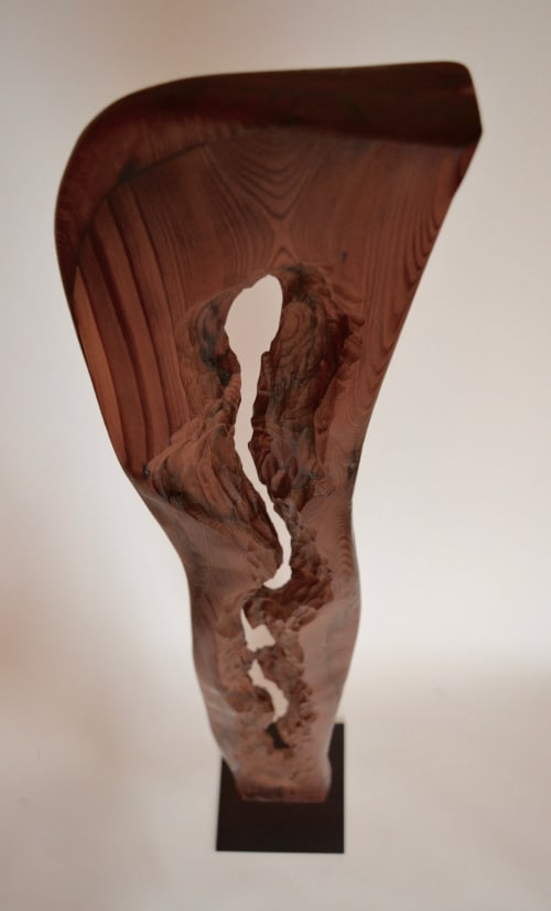 Sculptures by Lutz Hornischer - Sculptures & Wood Art seen at Room & Board, San Francisco - Abstract Wood Sculpture
